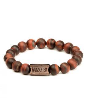 Armband mit Perlen aus Naturstein | Modell: STONEWOOD