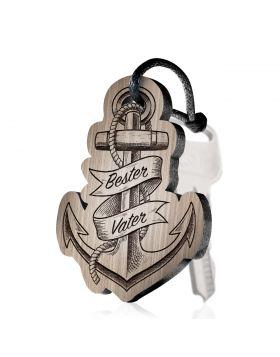 Bester Vater Schlüsselanhänger mit Gravur