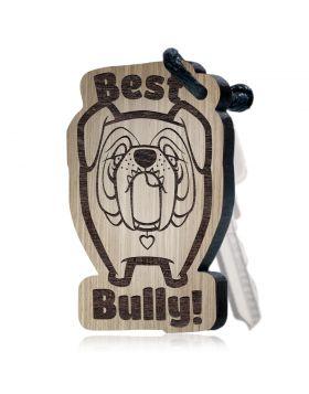 """Best Bully!"" Schlüsselanhänger Huggelz Huggelz ""Best Bully!"""