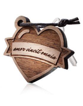 Schlüsselanhänger aus Holz Modell: LOVE TATTOO