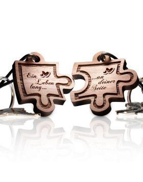 Schlüsselanhänger Puzzle: Ein Leben lang... an deiner Seite!