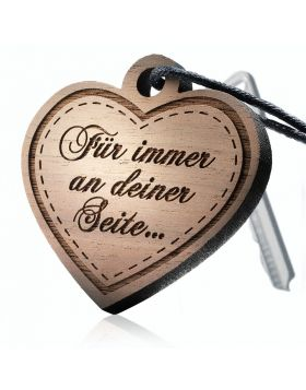 Schlüsselanhänger aus Holz: SOULMATE