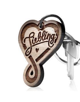 Schlüsselanhänger Liebling